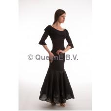 QueenE Anna rok zwart