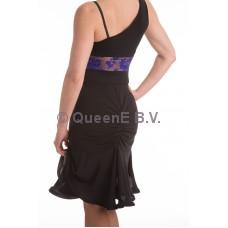 QueenE Luana rok zwart