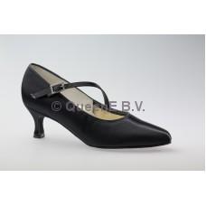 DSI Paris ballroom schoen (Zwart) en een  5 cm hak