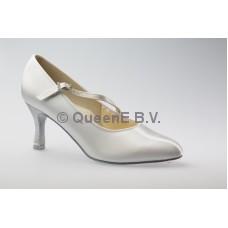 DSI Paris ballroom schoen (Wit) en een  6,5 cm hak