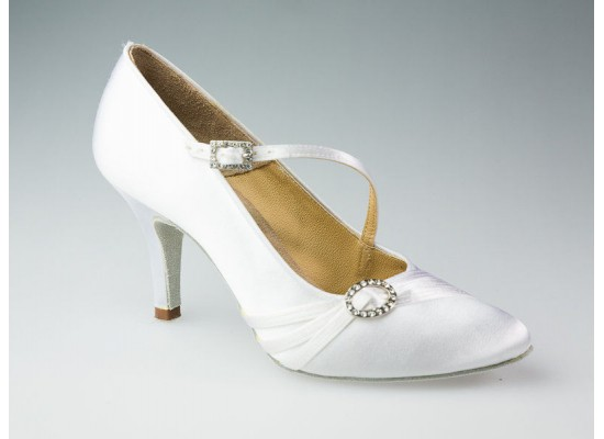 Aida ballroom model 040C with a 3 inch slim heel