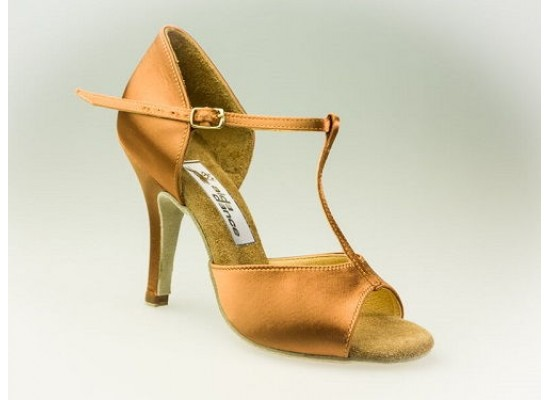 Aida latin model 010 with a 3 inch slim heel