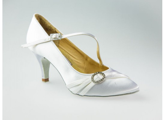 Aida ballroom model 040C with a 2 inch slim heel