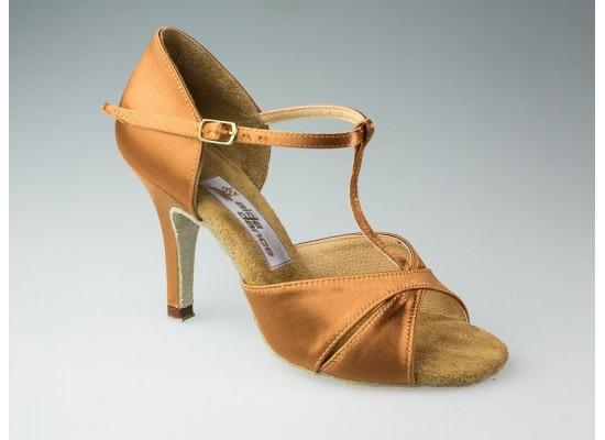 "Aida latin model 067 with a 3 inch slim heel and ""Anna"" sock"