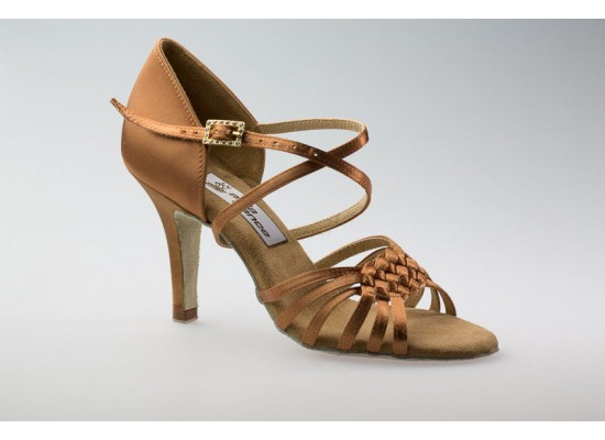 Aida latin model 080 with a 3.2 inch slim heel