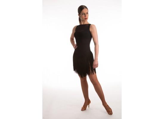 QueenE Isabella jurkje zwart