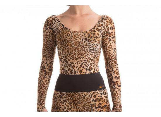 QueenE Marilene top leopard
