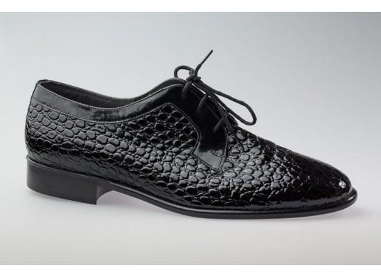 Supadance 6700 Black Sim Croc ballroom