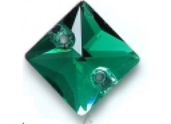 QG Square Blue Zircon 16x16mm