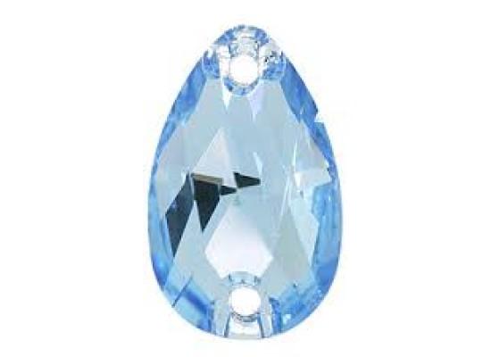 QG drop Light Sapphire 10,5x18