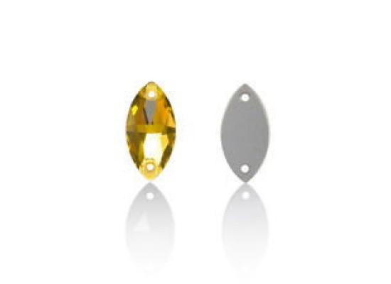QG Navette Gold Beryl 9x18