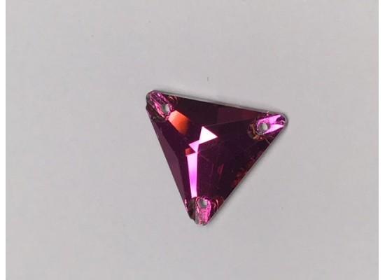 QG Triangle Fuchsia 16x16