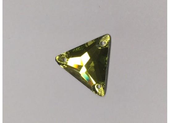 QG Triangle Olivine 16x16
